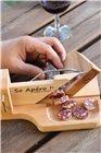 Sausage and saucisson guillotine