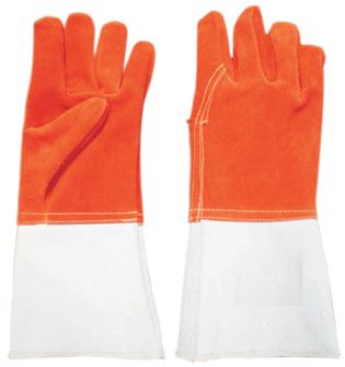 Heat resistant protective gloves