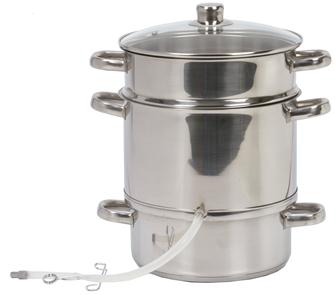 Steam juicer 26 cm - induction