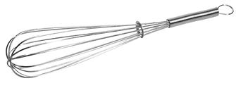 Large metal whisk 35 cm