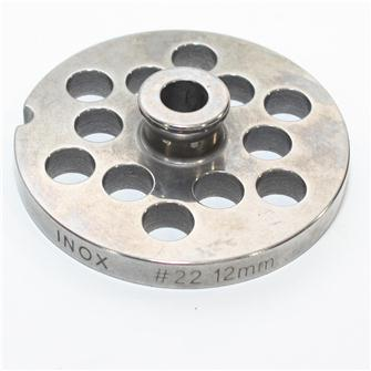 12 mm stainless steel plate for n°22 grinders