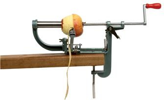 Vice apple peeler and corer