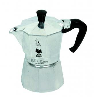 Italian coffee maker in aluminium - 9 cups