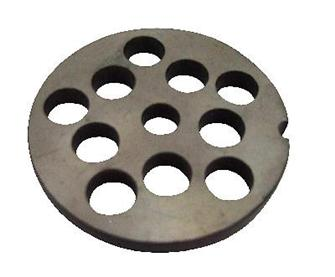 10 mm plate for N° 5 type meat grinder
