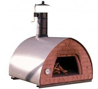 Transportable wood oven 70x70 cm