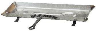 Stainless steel drip pan 68 cm
