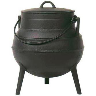 Cast iron cauldron 30 litres