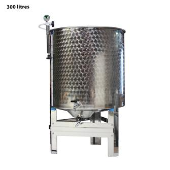 Full stainless steel wine vat 300 litres