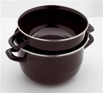 Enameled cooking pot 18 cm