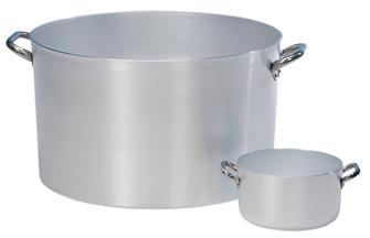 Aluminium stew pot 22 cm