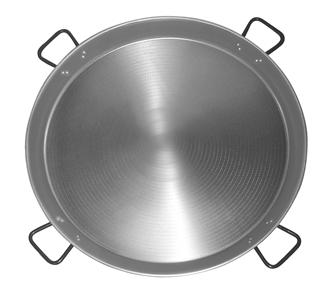 Professional series Paella pan 80 cm