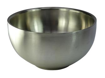 Double walled stainless steel bowl 24 cm
