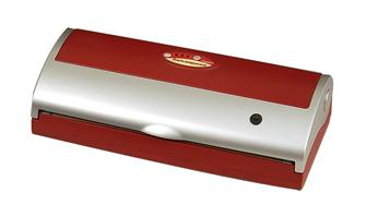 Red Reber family vacuum sealing machine
