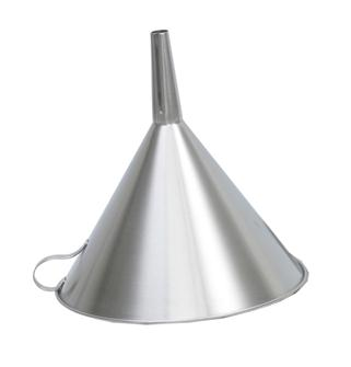 Stainless steel 30 cm filter funnel