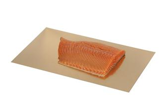 Gold and silver cardboard trays for vacuum sealed bags 30x50 cm