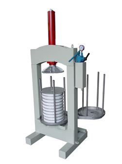Hydraulic manual olive press 30 kg/hour