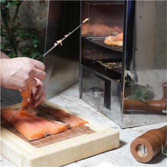 Fail-safe smoked salmon