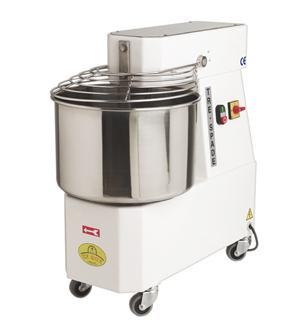 Electric baker´s kneading machine with stainless steel 24 litre bowl
