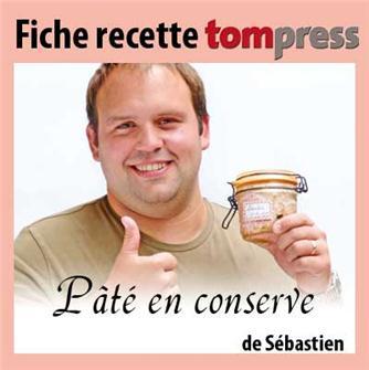 Sébastien´s pâté preserve recipe
