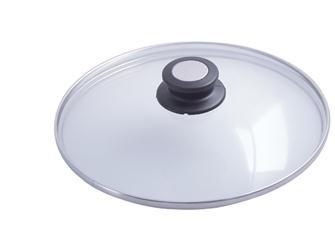 14 cm glass lid