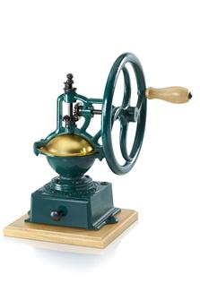 Countertop coffee mill - green