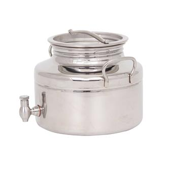 Stainless steel oil can - 3 litres