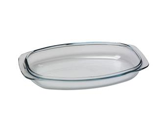 Pyrex lid for rectangular casserole 48x25 10l. non-stick aluminum cast iron