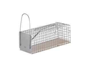 Rat trap with 1 entrance