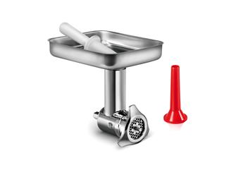 Stainless steel meat grinder and funnel for professional food mixer