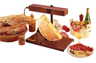 1/2 cheese raclette machine
