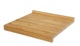 Bamboo worktop small model with a lip