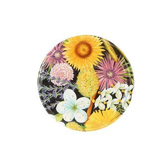 Twist-off honey lids Flowers 82 mm by 10
