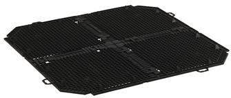 Anti pest grid for jarcom40 compost bin