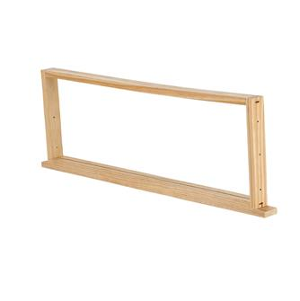 Wooden honey super frame for Dadant hives