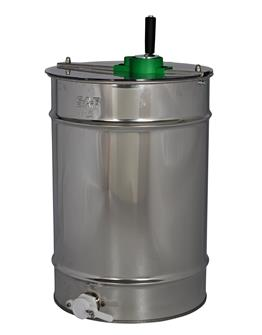Tangential manual honey extractor