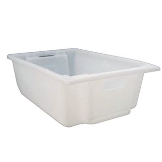 Stackable food crate 35 litres