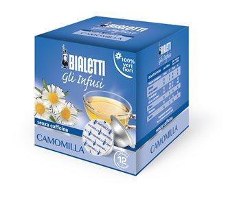 Box of 12 per capsules bialetti infusion chamomile
