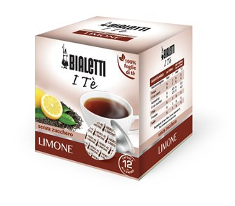 Box of 12 capsules Bialetti lemon tea