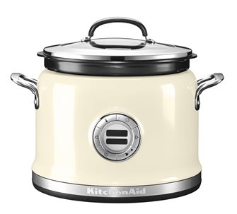 Multi cooker stainless 12 functions beige