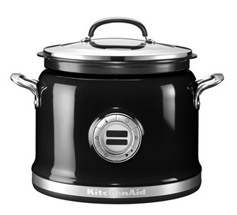Multi cooker stainless steel 12 functions black