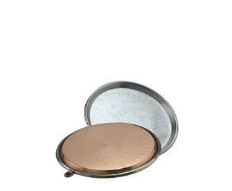 Copper socca dish 30 cm