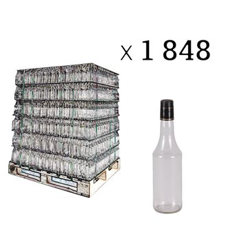 Bottles with syrup 50cl by pallet of 1848
