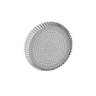 moule tarte perfor fond amovible antiadh sif 24 cm. Black Bedroom Furniture Sets. Home Design Ideas
