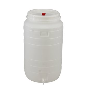 Plastic fermentation vat 210 litres