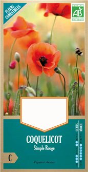 Organic wild poppy seeds