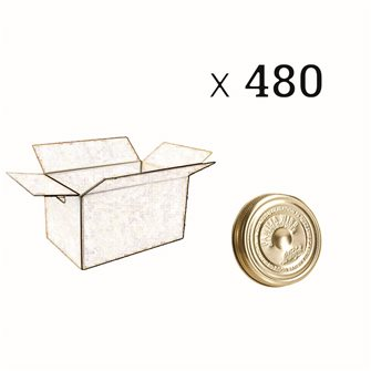 Familia Wiss® cap 82 mm per carton of 480