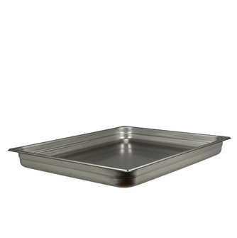 GN gastronorm tray 2/1 h. 6.5 cm EN-631