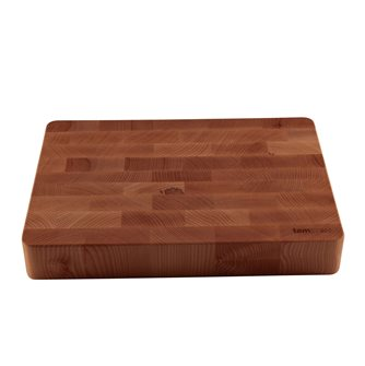 Professional wooden standing wood chopping board 35x50 cm