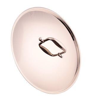 Aluminum lid stainless steel mirror finish 32 cm