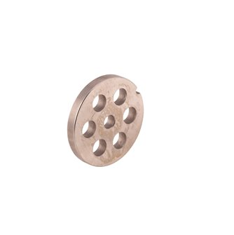 Grid 12 mm for electric meat grinder REBER type 8, stainless steel